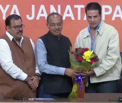 'Aashiqui' fame actor Rahul Roy joins BJP