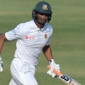 #INDvBAN: Mahmudullah's unbeaten 58 takes Bangladesh to 202/5 at Lunch on Day 5