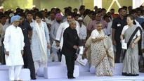 Congress leaders pay tribute on Rajiv Gandhi's 73rd birth anniversary