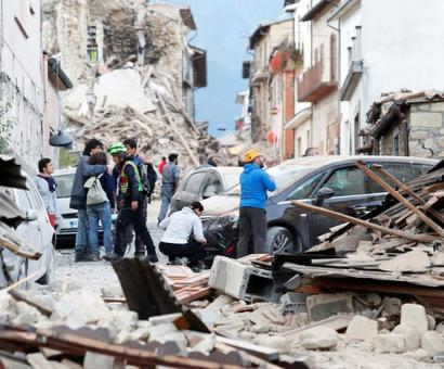 Strong quake rattles Italy, 38 deaths reported so far