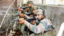 One Pakistani terrorist held, 4 killed in J&K encounter