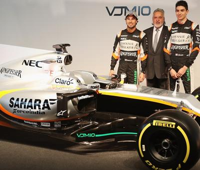 Mallya's Force India aim to be a top three team