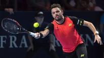 Wawrinka advances; Raonic, Dimitrov exit at Swiss Indoors