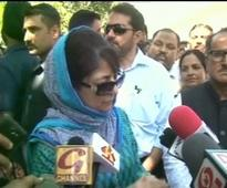 If US can mend ties with Iran, so can India-Pak: Mehbooba