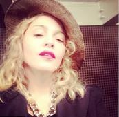 Clay face mask behind Madonna's youthful looks