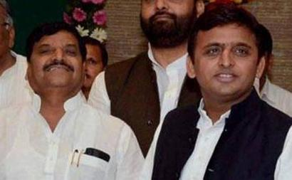 Shivpal meets Akhilesh to say all is well in Mulayam family