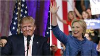 In U.S. Election, Clinton and Trump Are Pulling Away From Rivals