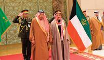 Saudi King concludes official visit to Kuwait