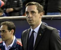 Nightmare for Neville as Valencia crash out