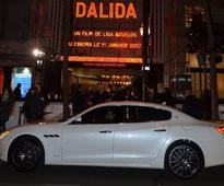 Maserati Quattroporte at the premiere of the Dalida movie