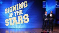 Keselowski joins Tom Brady, Derek Jeter at Michigan's 'Signing of the Stars'