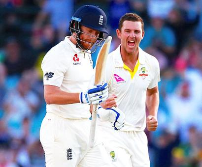 Ashes PHOTOS: Australia take late wickets to peg England back in Sydney