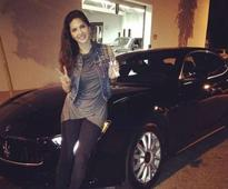 Guess which is Sunny Leone's favourite car!