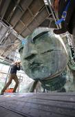 Face-lift work on Great Buddha of Kamakura underway