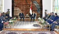 Sisi, Eritrean counterpart discuss promoting bilateral cooperation