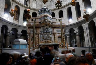 PHOTOS: Restoration of Jesus' tomb costs $3.3 million