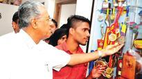 Muhammed Ajmal gets keys to new house in Kannur