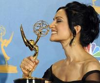 Emmy winner Archie Panjabi promotes polio eradication program