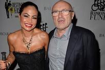 Phil Collins' ex-girlfriend off work nursing a broken heart after he dumps her to return to former wife