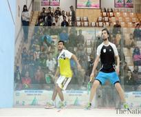 Saqib upsets Tayyab in National Squash Cup