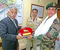 GOC 4 Corps calls on Arunachal Governor