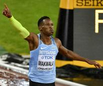 IAAF World Athletics Championships 2017: Isaac Makwala rebounds from illness to qualify for 200m final