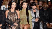 Did Kim Kardashian go without underwear at Balmain's Paris Fashion Week show?