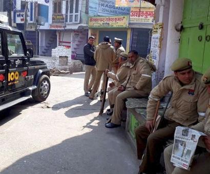 Kasganj violence: SP shunted out; 118 arrested