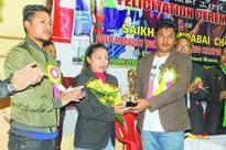 Weightlifter Saikhom Mirabai Chanu felicitated