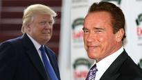 The fight continues: Arnie asks Trump to get a fact checker after US President says he was fired from Celebrity Apprentice