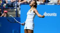 Cibulkova seals first grass-court title in Eastbourne