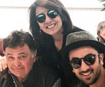 Neetu Singh Celebrates Birthday With Rishi Kapoor, Ranbir And Riddhima