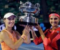 The SanTina express rolls on: Mirza-Hingis win Australian Open