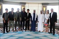 Check out Dishoom cast meets HH Sheikh Nahyan bin Mubarak Al Nahyan