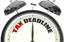 Hurry up to meet the tax deadline