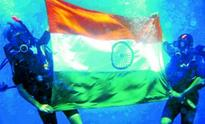 Unfurling the Tiranga in style
