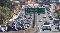 Auckland slowest moving and most congested city of its size in Australasia.