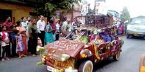Mapusa Carnival car released by traffic cops