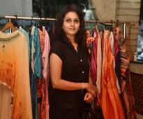 Bhavya looked pretty at Kiara's fashion exhibiton at Mughal Zaika restaurant in Chennai