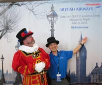 British Airways Launches San Jose, California  London-Heathrow Service