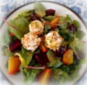 Beetroot & Goats Cheese Salad w/Orange Marmalade Vinaigrette