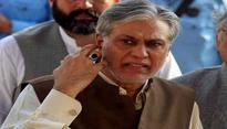 NAB strict on freezing Pak Finance Minister Dar's assets