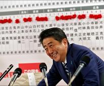 Shinzo Abe sweeps Japan elections with big victory