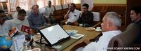 Sham Lal Chowdhery reviews functioning of PHE, I&FC Deptts