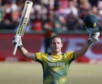 David Miller smashes record for fastest ton in Twenty20 Internationals