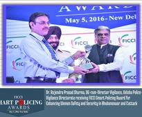 FICCI conferred Smart Policing Awards to Odisha Police in two categories