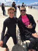 Inspiring Day Of Surfing At Adaptive SA Champs