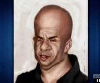 Vin Diesel's Facebook Fan Art On 'Conan'