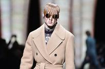 Beards, fringes and blush at Milan Men's Fashion Week