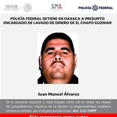 Mexico Detains Drug Lord El Chapo's Top Money Launderer